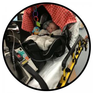 Baby Penny Ambulance Ride